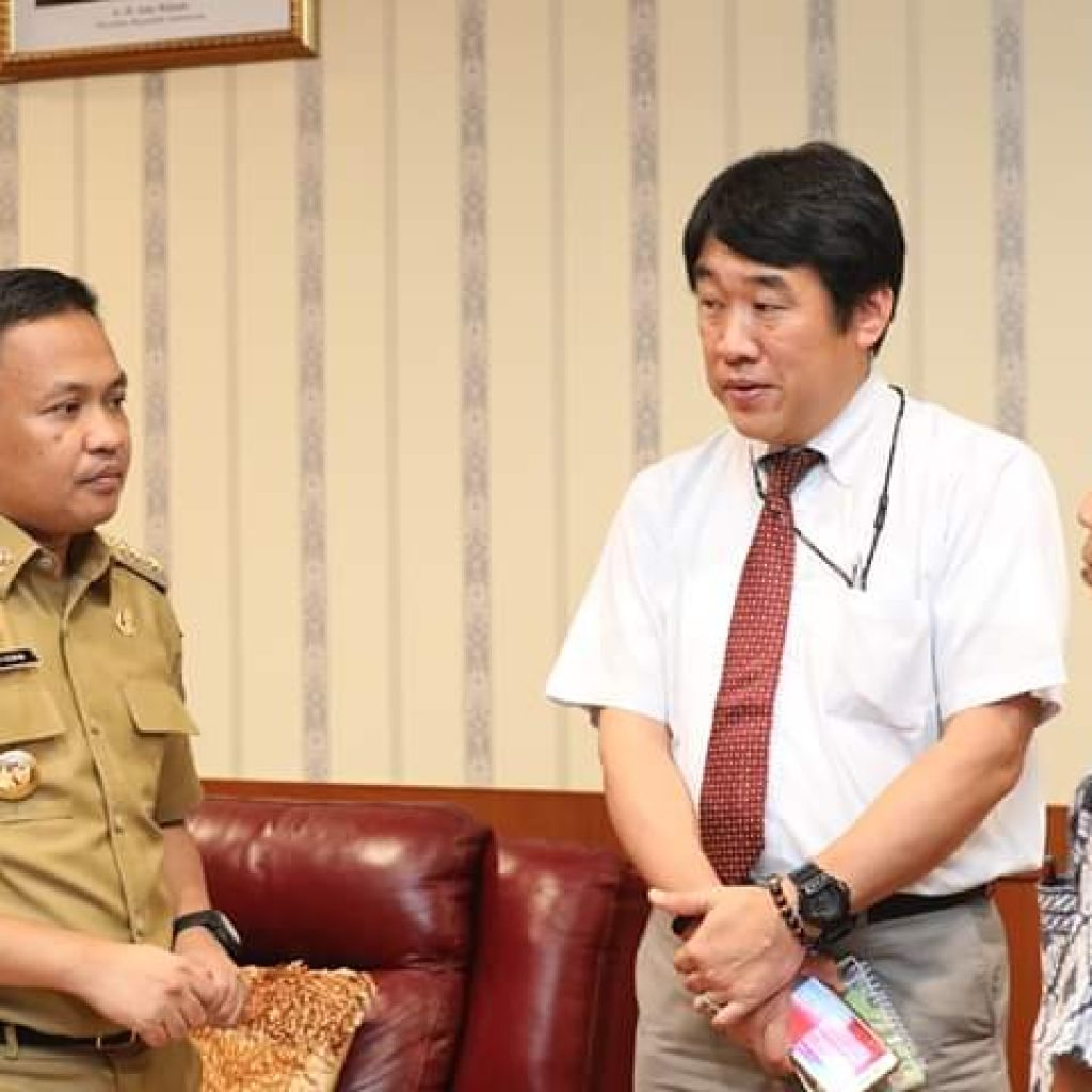 Permalink to Kunjungan Kerja Tim Japan International Cooperation Agency (JICA), diterima Bupati Bantaeng Ilham Azikin